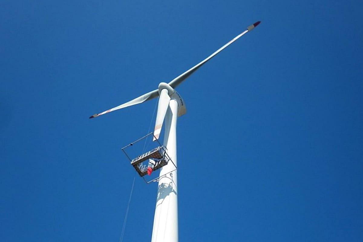Biatrak - Naprawa i serwis łopat turbin wiatrowych